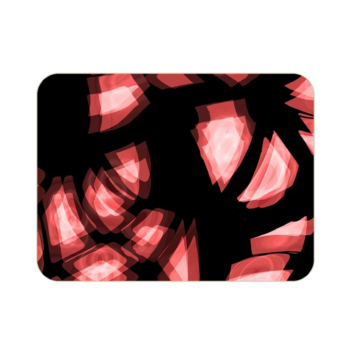 Red light Double Sided Flano Blanket (Mini)