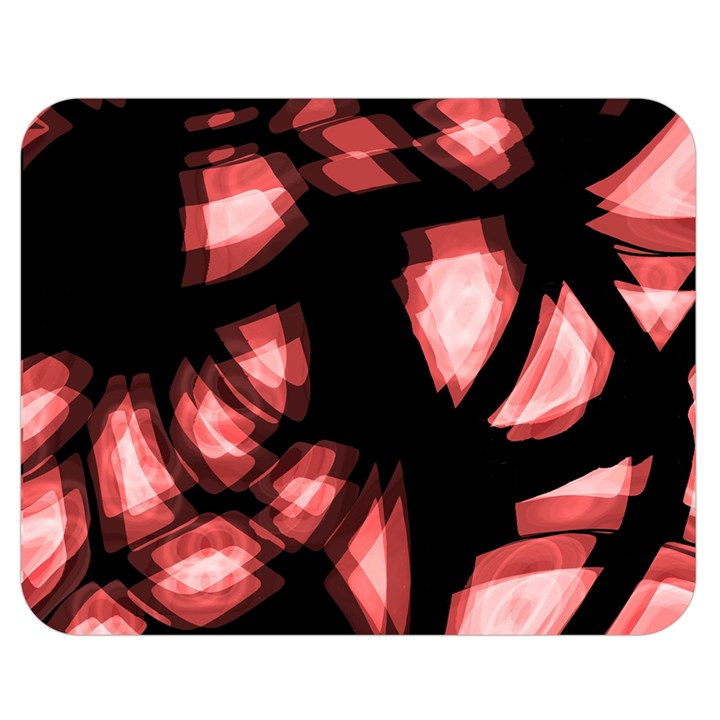 Red light Double Sided Flano Blanket (Medium)
