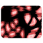 Red light Double Sided Flano Blanket (Medium)  60 x50 Blanket Back