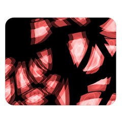 Red light Double Sided Flano Blanket (Large)