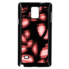 Red Light Samsung Galaxy Note 4 Case (black)