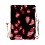 Red light Drawstring Bag (Small) Front