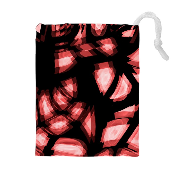 Red light Drawstring Pouches (Extra Large)