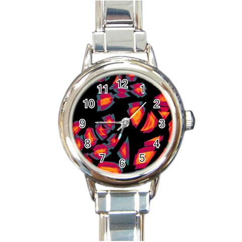 Hot, hot, hot Round Italian Charm Watch