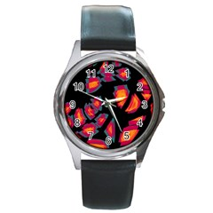 Hot, Hot, Hot Round Metal Watch
