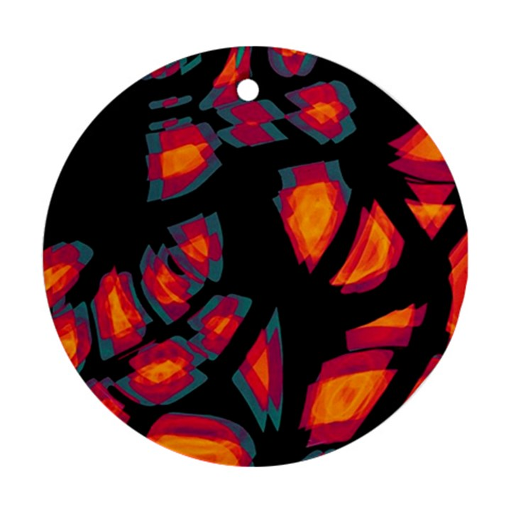 Hot, hot, hot Ornament (Round)