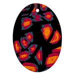 Hot, hot, hot Ornament (Oval)  Front