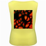 Hot, hot, hot Women s Yellow Tank Top Back