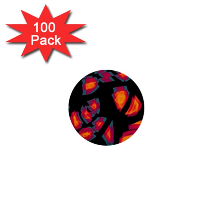 Hot, hot, hot 1  Mini Buttons (100 pack)