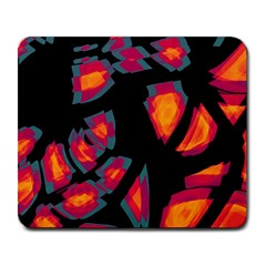 Hot, hot, hot Large Mousepads