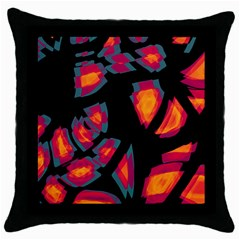 Hot, hot, hot Throw Pillow Case (Black)