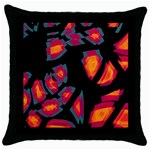 Hot, hot, hot Throw Pillow Case (Black) Front