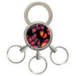 Hot, hot, hot 3-Ring Key Chains Front