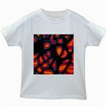 Hot, hot, hot Kids White T-Shirts Front