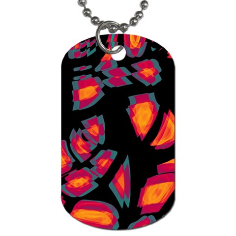 Hot, hot, hot Dog Tag (One Side)