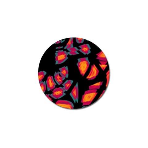 Hot, hot, hot Golf Ball Marker