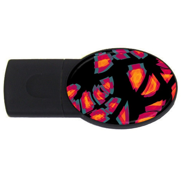 Hot, hot, hot USB Flash Drive Oval (2 GB)
