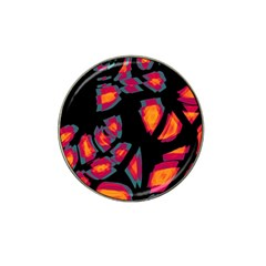 Hot, hot, hot Hat Clip Ball Marker (4 pack)