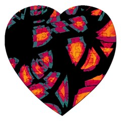 Hot, hot, hot Jigsaw Puzzle (Heart)