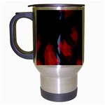 Hot, hot, hot Travel Mug (Silver Gray) Left