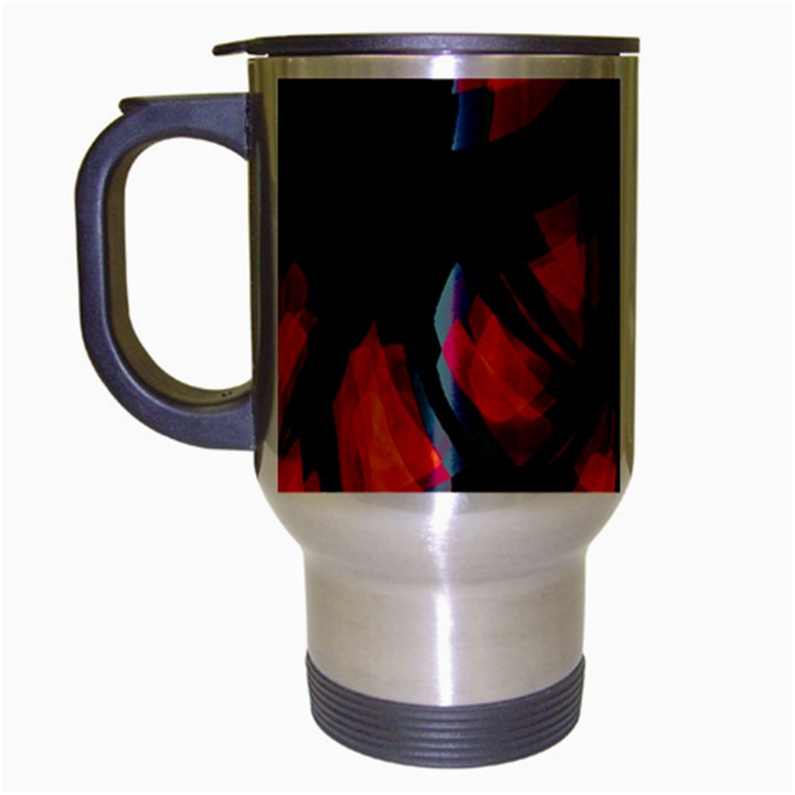 Hot, hot, hot Travel Mug (Silver Gray)