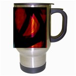 Hot, hot, hot Travel Mug (Silver Gray) Right