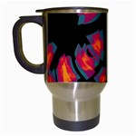 Hot, hot, hot Travel Mugs (White) Left