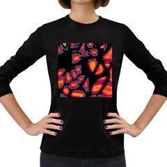 Hot, Hot, Hot Women s Long Sleeve Dark T Shirts