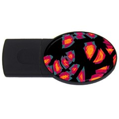 Hot, hot, hot USB Flash Drive Oval (4 GB)