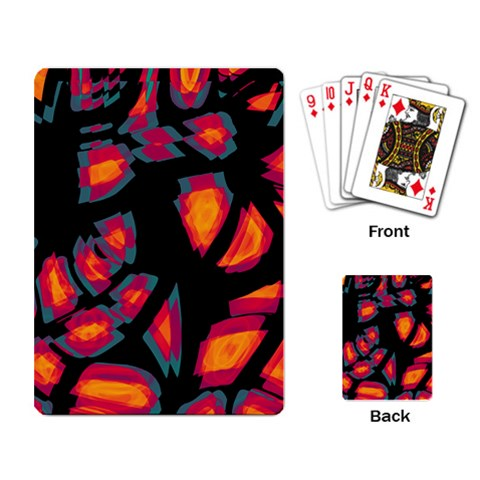 Hot, hot, hot Playing Card