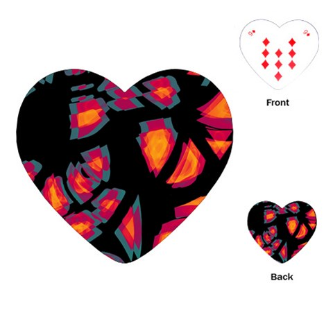 Hot, hot, hot Playing Cards (Heart)