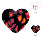 Hot, hot, hot Playing Cards (Heart)  Front