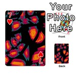 Hot, hot, hot Playing Cards 54 Designs  Front - Heart7