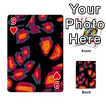 Hot, hot, hot Playing Cards 54 Designs  Front - Heart9