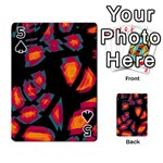 Hot, hot, hot Playing Cards 54 Designs  Front - Spade5