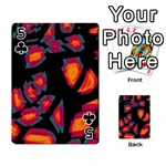 Hot, hot, hot Playing Cards 54 Designs  Front - Club5