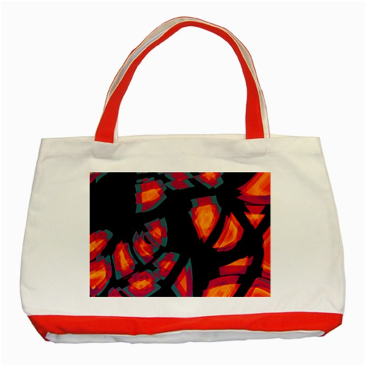 Hot, hot, hot Classic Tote Bag (Red)