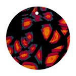 Hot, hot, hot Round Ornament (Two Sides)  Back