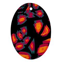 Hot, Hot, Hot Oval Ornament (two Sides)