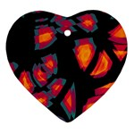 Hot, hot, hot Heart Ornament (2 Sides) Back