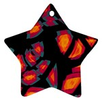 Hot, hot, hot Star Ornament (Two Sides)  Back