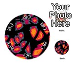 Hot, hot, hot Playing Cards 54 (Round)  Front - SpadeK