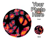 Hot, hot, hot Playing Cards 54 (Round)  Front - HeartQ
