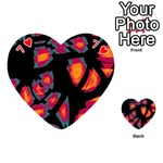 Hot, hot, hot Playing Cards 54 (Heart)  Front - Heart7
