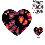 Hot, hot, hot Playing Cards 54 (Heart)  Front - Diamond9