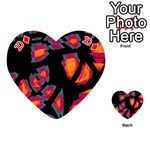 Hot, hot, hot Playing Cards 54 (Heart)  Front - Diamond10