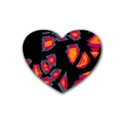 Hot, hot, hot Heart Coaster (4 pack)