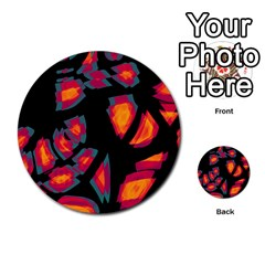 Hot, Hot, Hot Multi Purpose Cards (round)