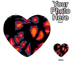 Hot, Hot, Hot Multi Purpose Cards (heart)