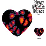 Hot, hot, hot Multi-purpose Cards (Heart)  Back 50